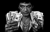 scarface canvas, scarface canvas art print, scarface canvas prints, scarface wall art, scarface pop art