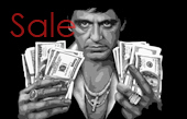 scarface canvas, scarface canvas art print, scarface canvas prints, scarface wall art, scarface pop art, movie art uk