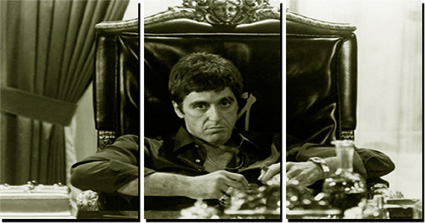 pictures of scarface, scarface wall art, scarface prints, scarface framed picture, scarface pop art