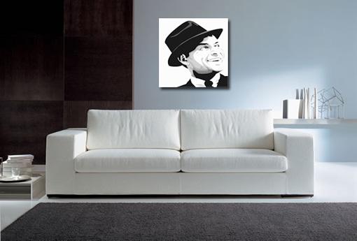 frank sinatra pop art, sinatra wall art