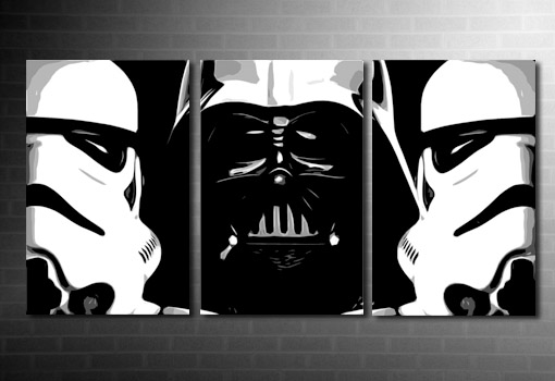 Star Wars canvas art, star wars wall art, starwars canvas, large star wars canvas, canvas art prints uk