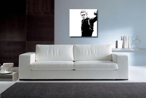 steve mcqueen canvas print, steve mcqueen wall art