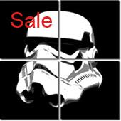 stormtrooper art, stormtrooper canvas print, star wars art print, starwar movie canvas