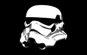 star wars wall art, stormtrooper canvas print sale