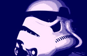 stormtrooper pop art canvas print, star wars stormtrooper