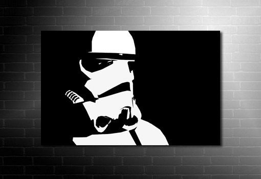 Star Wars Canvas Art, star wars art, stormtrooper canvas wall art, star wars canvas, starwars moie art