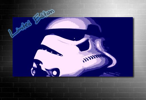 Stormtrooper Canvas art, star wars canvas art, star wars print, movie wall art, star wars canvas painting