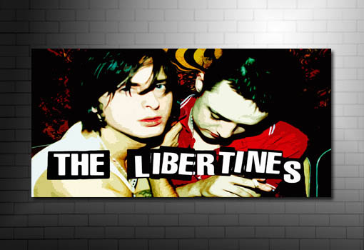 libertines canvas art