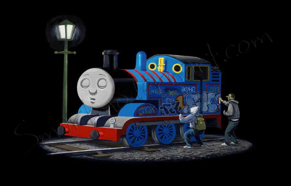 Banksy Thomas The Tank