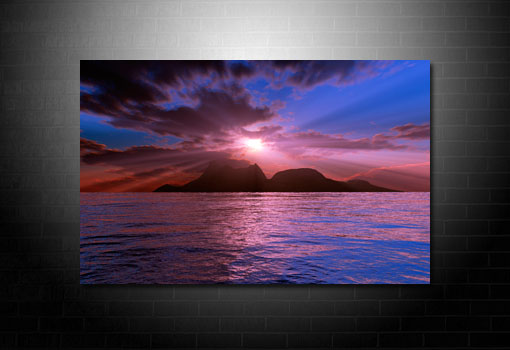 landscape art prints, digital seascape art, seascape wall art