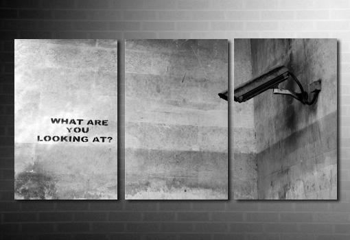 Banksy What Camera Canvas art, banksy art, banksy graffiti art, banksy art uk