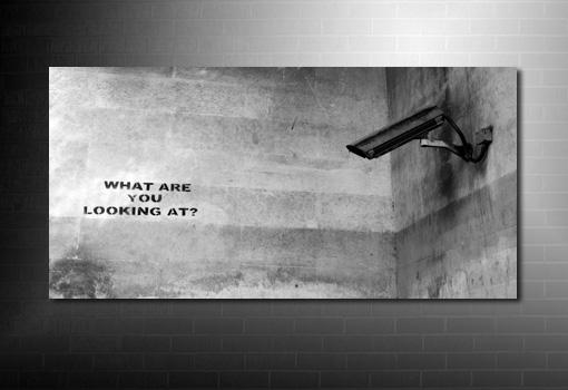 Banksy What Camera Canvas art print, banksy canvas wall art, banksy pop art, banksy canvas print