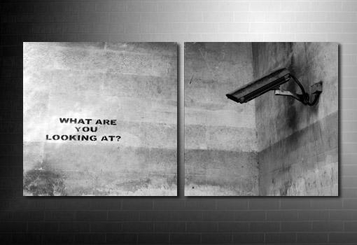 Banksy What Camera Canvas wall art, banksy canvas wall art, banksy canvas print, banksy canvas uk