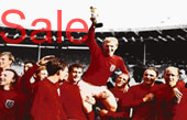 World Cup Canvas 1966, Football Canvas Art, Bobby Moore Canvas, Football Wall Art