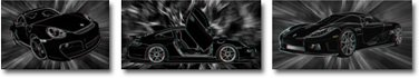 3d canvas art, 3 dimensional canvas prints, cars on canvas