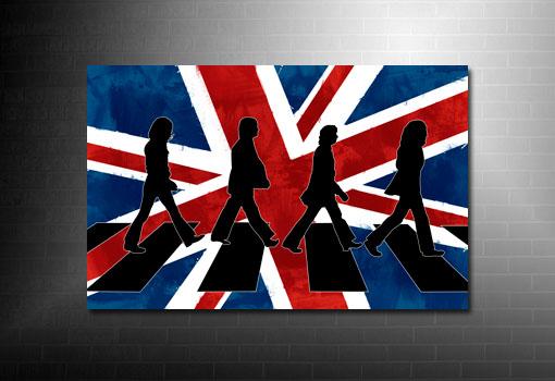 Abbey Road canvas, the beatles canvas art, Abbey Road canvas art print, beatles wall art, Abbey Road pop art