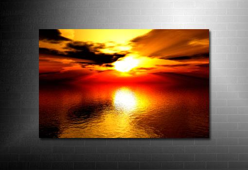 digital seascape art, landscape canvas picture, seascape wall art