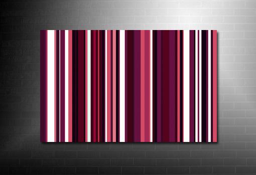 Paul Smith canvas, Retro Stripes Canvas, Pop Art Prints, modern retro canvas art, retro wall art