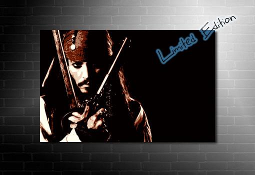 Johnny Depp Canvas Art, johnny depp movie print, johnny depp canvas print, johnny depp art, johnny depp wall art