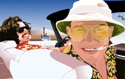 johnny depp canvas art, modern movie art
