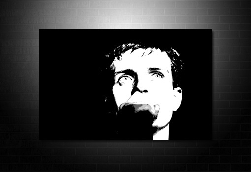 Ian Curtis Canvas wall art prints, ian curtis pop art canvas, Ian Curtis canvas artwork, ian curtis print, joy division canvas painting