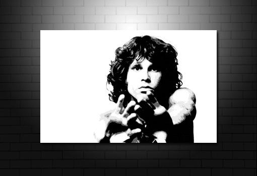 Jim Morrison Canvas Art, Jim Morrison canvas painting, Jim Morrison artwork, music canvas prints, Jim Morrison print