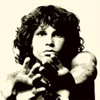 jim morrison canvas pop art
