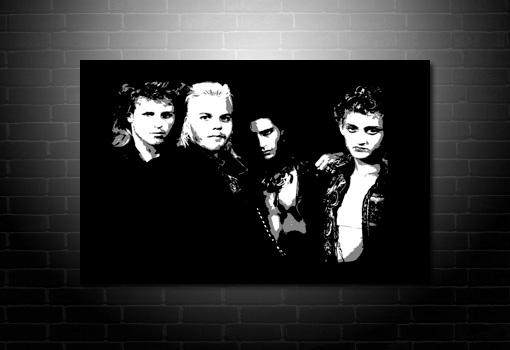 lost boys canvas art, lost boys movie canvas print, lost boys movie canvas