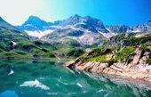 mountain wall art, landscape canvas print, landscape art prints, Modern Landscape Art