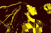 bob marley canvas pop art, bob marley