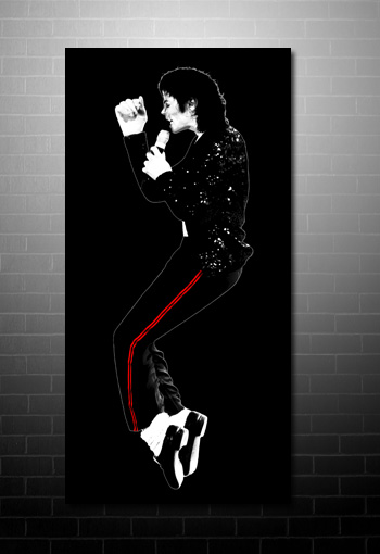 Michael Jackson canvas art print, Michael Jackson pop art, Michael Jackson canvas, Michael Jackson wall art, Michael Jackson dancing art