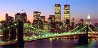 new york cityscape canvas art sale, cityscape atr print