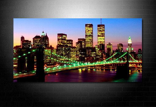 Brooklyn Bridge Canvas, New York Skyline Canvas