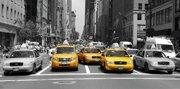 new york taxi canvas, new york canvas art, new york taxi art