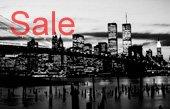 New York Skyline Canvas, New York Canvas