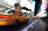 new york city canvas art sale, yellow taxi new york art