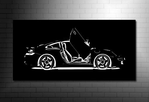 Porsche 911 Canvas Art, Porsche Canvas Art, Porsche Canvas Art