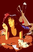 pulp fiction pop art