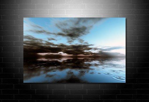 landscape canvas print, modern seascape art, seascape art prints