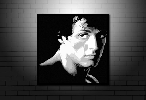 Rocky canvas art, rocky movie art, stallone canvas art, rocky canvas print, movie wall art