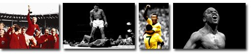 sport wall art, football canvas art, muhammad ali canvas, sporting wall art