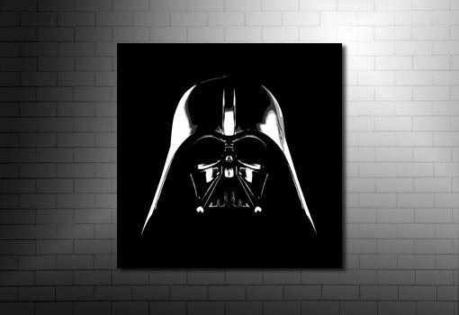 Star Wars Canvas, starwars canvas print, movie wall art, darth vader canvas, star wars movie print