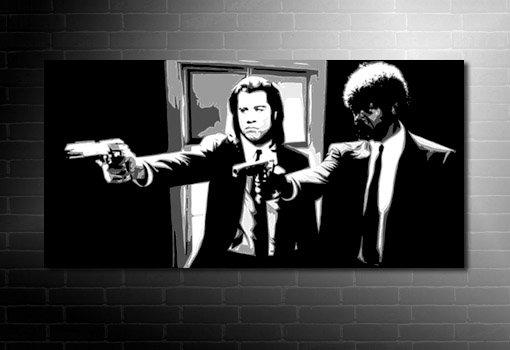 Pulp Fiction Canvas art, pulp fiction print, pulp fiction art, pulp fiction wall art, pulp fiction pop art