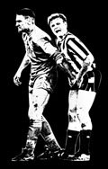 Vinnie Jones Football Canvas, Gazza Canvas Print, Football Canvas Art