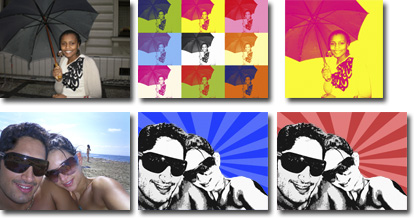 your photo to canvas print, photo on canvas wall art, canvas art uk, warhol style art